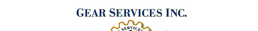 Gear Services, Inc - Service and commitment to both maritime and shore-based industry.